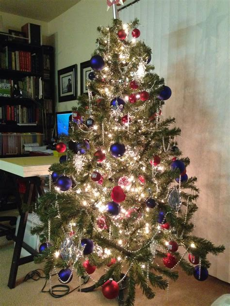 Ny Giants Christmas Tree  Christmas  Pinterest  Trees, Christmas Trees And Christmas