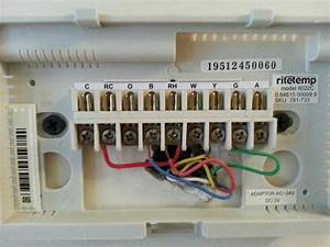 Limited Ritetemp Thermostat Wiring Diagram  Ritetemp Thermostats Com 6022 Heating Cooling