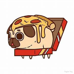"""Puglie Pizza"" by Puglie Pug Redbubble"