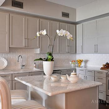 taupe colored kitchen cabinets concealed kitchen vent design ideas