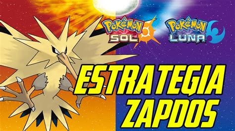 Pokemon Sol/luna Zapdos [estrategia]