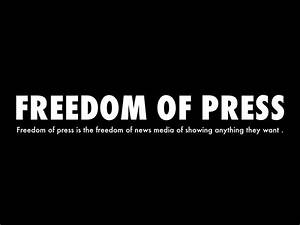 First Amendment Freedom Of Press Pictures to Pin on ...