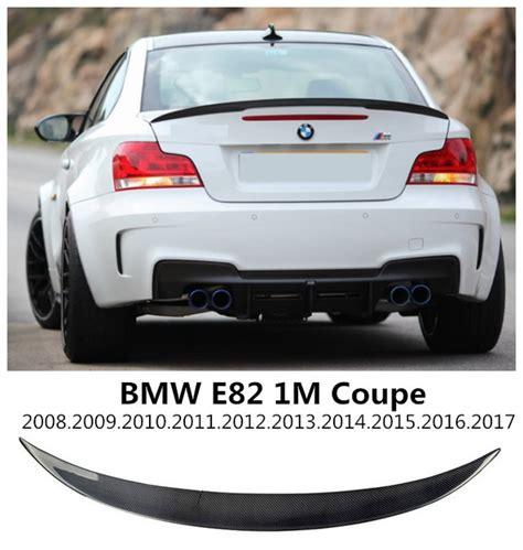 Carbon Fiber Spoiler For Bmw E82 1m M135i Coupe 20082009