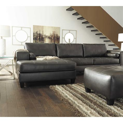 raf chaise sectional nokomis 2 sectional with raf chaise 8770117