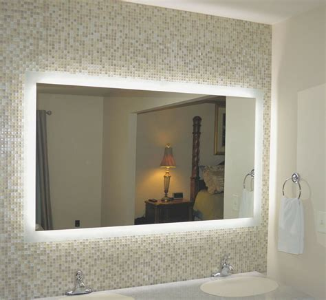 Lighted Mirrors Bathroom by Lighted Vanity Mirrors Wall Mounted Mam96040 60 Quot Wide X