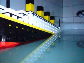 pin lego titanic sinking 100th anniversary flickr photo