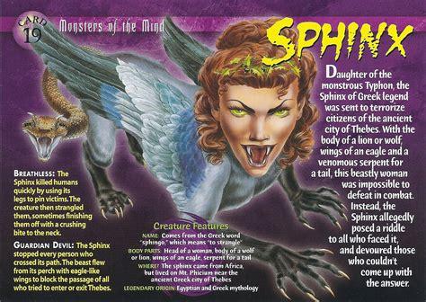 sphinx wierd nwild creatures wiki fandom powered  wikia