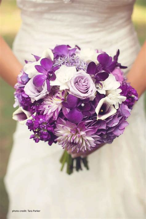 purple wedding flowers ideas  pinterest