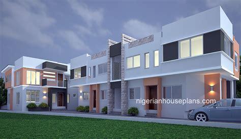 bedroom block  flats archives nigerianhouseplans