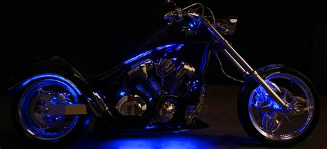 a brief guide to install led lighting strips on motorcycle