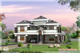 luxury home design plans 3500 sq ft luxury indian home design kerala home