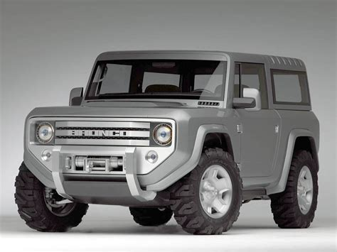 ford bronco concept history pictures  auction