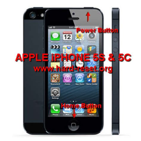 reset iphone 5 how to easily master format iphone 5s and iphone 5c with