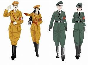 Adolf Hitler And HimmlerFemVersion By FVSJ On DeviantArt