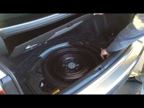 lexus  spare tire youtube