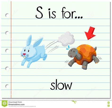 Animal Flashcard With Rabbit Vector Illustration  Cartoondealercom #79891422