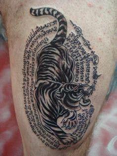 tiger tattoo  represent symbolism