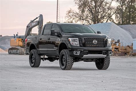 rough country 6in suspension lift kit 2017 titan 4wd