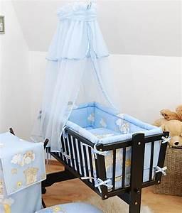 Kinderbett Für Baby : baby sonnendach vorhang f r schaukel wiege schwingend moseskorb blau ebay ~ Markanthonyermac.com Haus und Dekorationen
