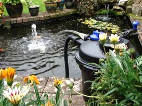 Pressurised Pond Filter Set Up (CPF-5000) - All Pond