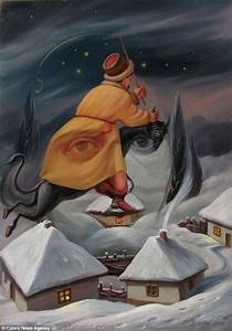 oleg shuplyak illusion painting winter 5