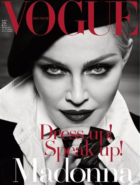Alternate Vogue covers (Germany / April 2017 ...