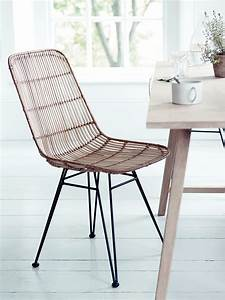 inspired by classic 1950s design and material our With the stylish wicker dining room chairs