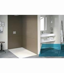 Panneau Hydrofuge Salle De Bain : panneau mural pour douche banyo ~ Dailycaller-alerts.com Idées de Décoration