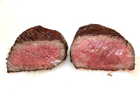 flip  steaks multiple times   results