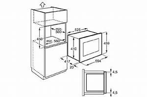 Hauteur Micro Onde : pack four encastrable electrolux eoc5851 e7354 ems260040 efb90550x 5000343 ~ Melissatoandfro.com Idées de Décoration