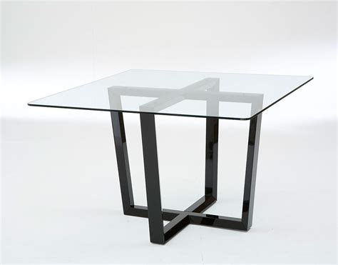 glass top pedestal dining table 55 glass top dining tables with original bases digsdigs