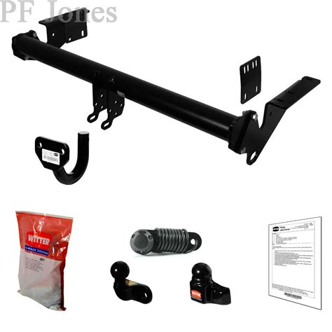 witter towbar for nissan trail atv suv t32 2014 flange tow bar ebay