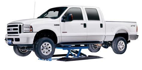 Types-of-car-lifts-low-mid-rise-hinged-lift-with-ford