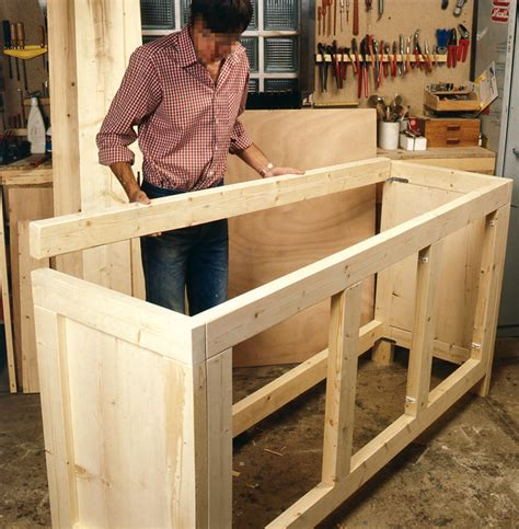 fabriquer cuisine table rabattable cuisine fabriquer un meuble de