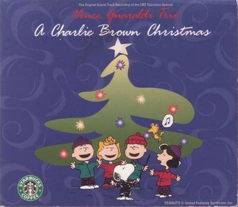 vince guaraldi trio personnel vince guaraldi trio a charlie brown christmas 1997