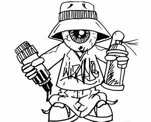 Graffiti Characters Gangster Boys - Graffiti Art