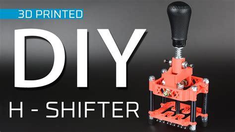 dprinted  shifter  sim racing youtube