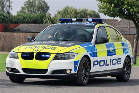 British Police Car Bmw
