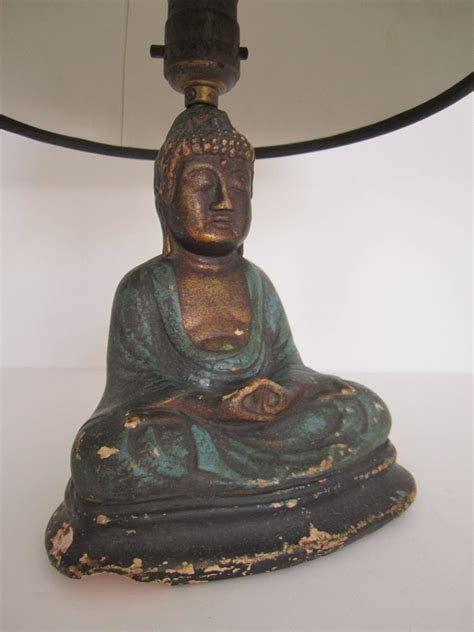 Special Buddha Desk Or Table Lamp, 1920s For Sale At 1stdibs