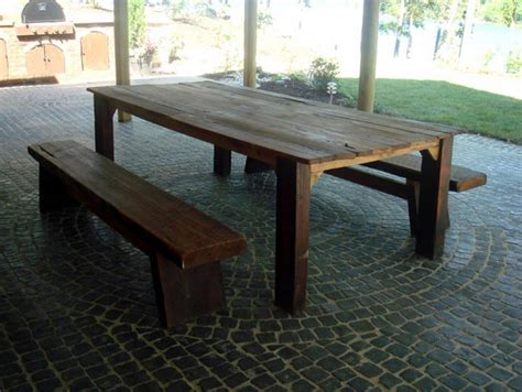 woodwork diy wood outdoor table  plans