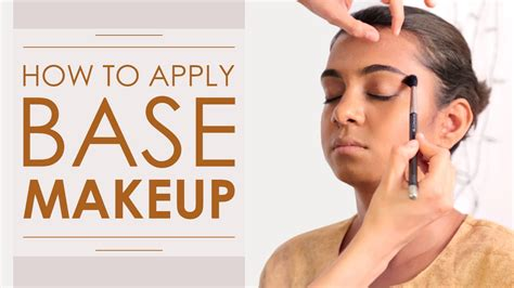 makeup tutorial   apply  perfect flawless makeup base foundation youtube