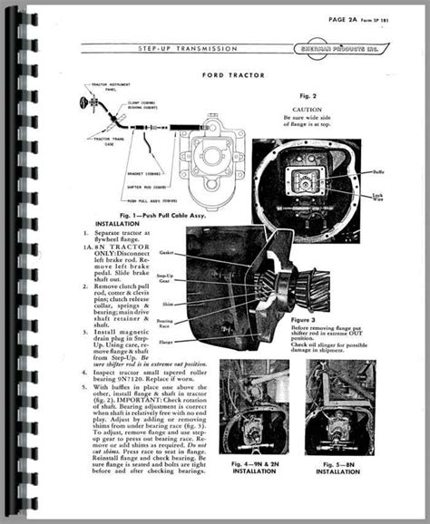 Ford Tractor Engine Parts Wiring Diagram Fuse Box