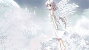 Cute Anime Angel Girl HD Wallpaper