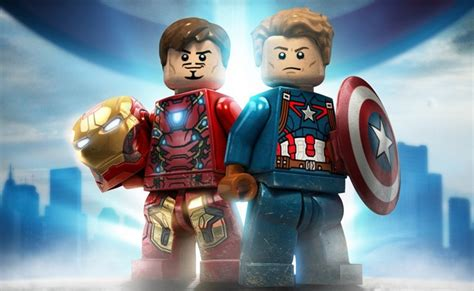 Trailer & Poster For 'LEGO Marvel's Avengers Civil War ...