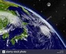 Japan Map Kyushu Stock Photos & Japan Map Kyushu Stock ...