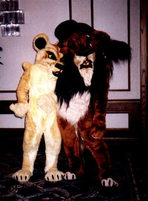 Scar and Zira fursuits   Fursuits   Pinterest   Scars.