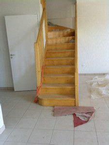 repeindre un escalier vernis les 25 meilleures id 233 es concernant repeindre un meuble vernis sur cuisine bois