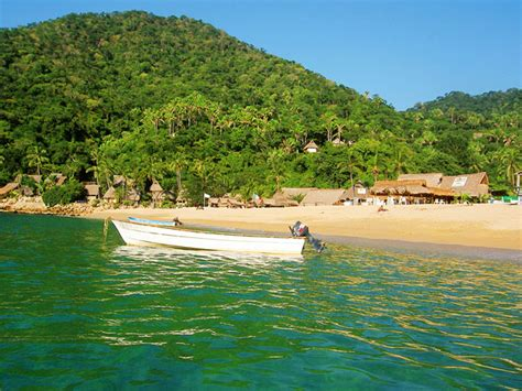 Rock The Boat Yelapa Mexico by Yelapa Travel Wallpaper And Stock Photo