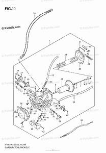 Suzuki Motorcycle 2008 Oem Parts Diagram For Carburetor