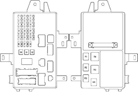 2003 Toyotum Camry Fuse Diagram by 2001 2006 Toyota Camry Xv30 Fuse Box Diagram 187 Fuse Diagram